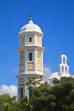 VN01169 Venezuela, Ciudad Bolivar, Historic Center, Plaza Bolivar, Cathedral