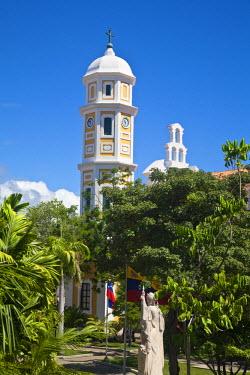 VN01170 Venezuela, Ciudad Bolivar, Historic Center, Plaza Bolivar, Cathedral