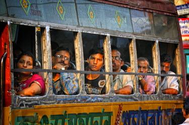 IND6266AW Streets of Kolkata. India