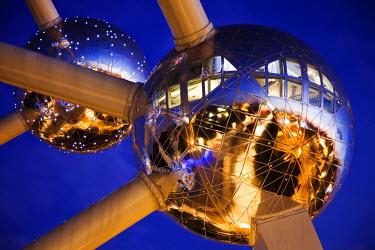 BEL1140 The Atomium,Grimbergen, Strombeek-Bever, Belgium