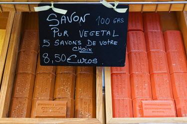 EU09_SPI0299 Soaps, Grasse, Provence, France.
