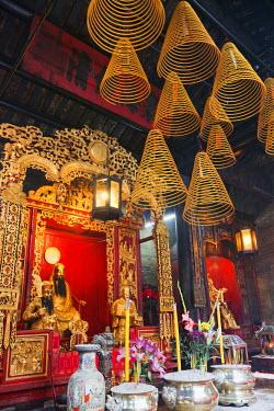 TPX22443 China, Macau, Sam Kai Vui Kun Temple, Incense Sticks and Incense Coils