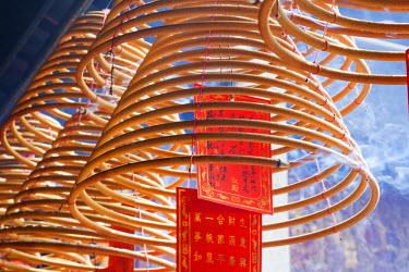 TPX22490 China, Macau, A-Ma Temple, Incense Coils