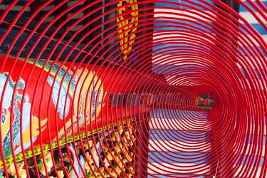 TPX23166 Vietnam, Hoi An, Phuc Kien Assembly Hall, Incense Coils