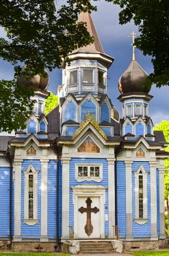 LT02029 Lithuania, Southern Lithuania, Druskininkai, Russian Orthodox Church