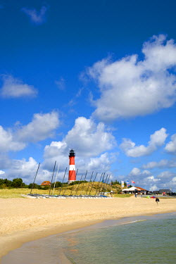 GER0608AW Lighthouse Hornum, Sylt Island, North Frisian Islands, Schleswig Holstein, Germany