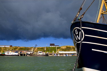GER0607AW Harbour, Hornum, Sylt Island, North Frisian Islands, Schleswig Holstein, Germany
