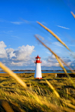 GER0601AW Lighthouse List west, Ellenbogen, Sylt Island, North Frisian Islands, Schleswig Holstein, Germany