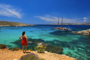 MLT0126AW Blue Lagoon, Comino Island, Malta (MR)