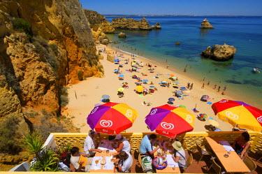 POR0834AW Restaurant, Praia Dona Ana, Algarve, Portugal