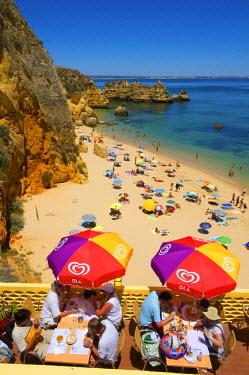 POR0800AW Restaurant, Praia Dona Ana, Algarve, Portugal