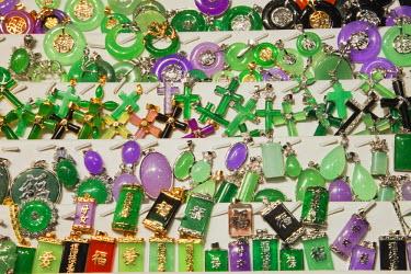 TPX22596 China, Hong Kong, Kowloon, Yau Ma Tei, Jade Market