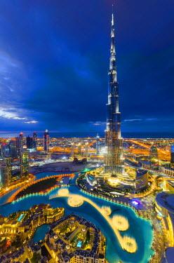 UE01422 UAE, Dubai, Burj Khalifa
