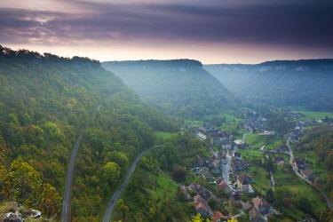FR08106 France, Jura Department, Franche-Comte Region, Les Reculees valley area, Baume-les-Messieurs