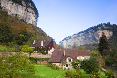 FR08108 France, Jura Department, Franche-Comte Region, Les Reculees valley area, Baume-les-Messieurs