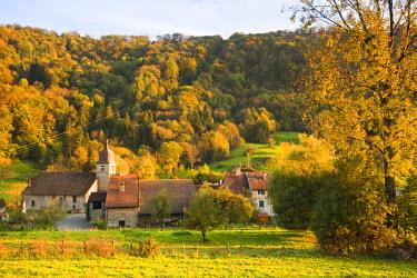 FR08103 France, Jura Department, Franche-Comte Region, Les Reculees valley area, Blois-sur-Seille