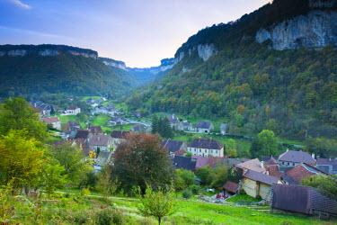 FR08104 France, Jura Department, Franche-Comte Region, Les Reculees valley area, Baume-les-Messieurs