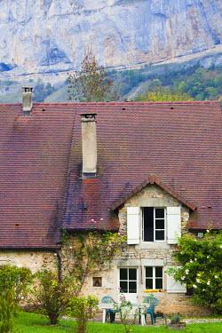 FR08107 France, Jura Department, Franche-Comte Region, Les Reculees valley area, Baume-les-Messieurs
