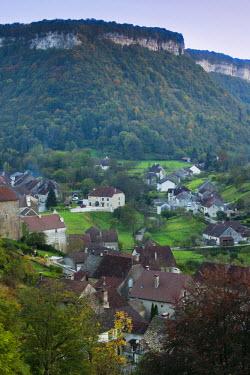 FR08105 France, Jura Department, Franche-Comte Region, Les Reculees valley area, Baume-les-Messieurs
