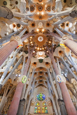 TPX23820 Spain, Barcelona, Sagrada Familia, Interior