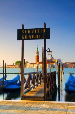 IT02541 Italy, Veneto, Venice, San Giorgio Maggiore Church across Basino di San Marco