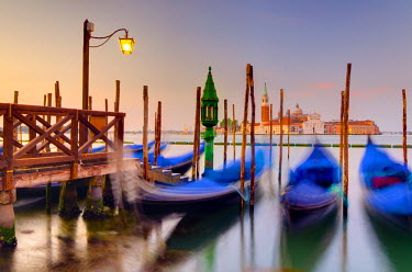 IT02532 Italy, Veneto, Venice, San Giorgio Maggiore Church across Basino di San Marco