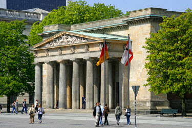 GER0660 The Neue Wache - New Guard House, is a war memorial in Berlin, Germany.