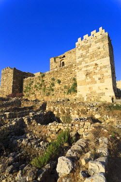 LB008RF Lebanon, Byblos, archaeological site, Crusader Castle