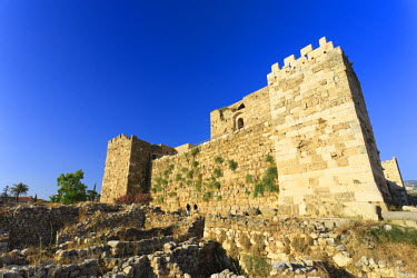 LB007RF Lebanon, Byblos, archaeological site, Crusader Castle
