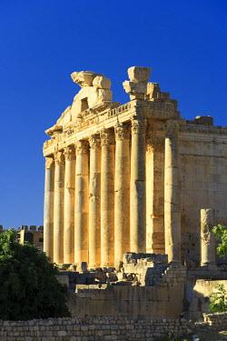 LB001RF Lebanon, Baalbek, Temple of Bacchus