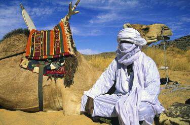 LIB1460AW Tuareg, Sahara Desert, Libya