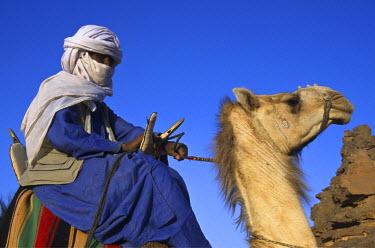 LIB1462AW Tuareg, Sahara Desert, Libya
