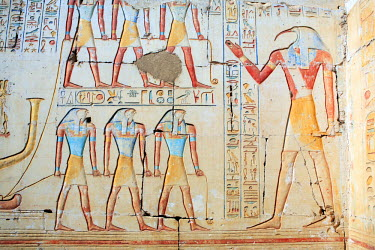 EG07065 Ramesses II temple (13th century BC), Abydos, Egypt