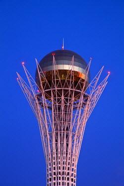 KZ01130 Kazakhstan, Astana, Nurzhol Bulvar - central boulevard, Bayterek Tower