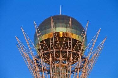 KZ01148 Kazakhstan, Astana, Nurzhol Bulvar - central boulevard, Bayterek Tower