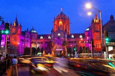 IN06318 Victoria Terminus or Chhatrapati Shivaji Terminus (CST), Mumbai (Bombay), India