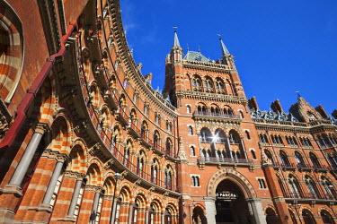 TPX27260 England, London, St.Pancras, Facade of Marriot St.Pancras Renaissance Hotel