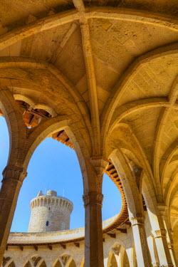 ES08152 Castell de Bellver, Palma de Mallorca, Mallorca, Balearic Islands, Spain