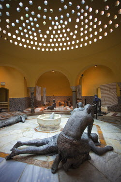 IS30081 Israel, North Coast, Akko-Acre, ancient city, Hammam Al-Pasha Turkish Bath, built in 1780