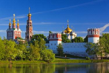 RU01378 Russia, Moscow, Khamovniki-area, Novodevichy Monastery