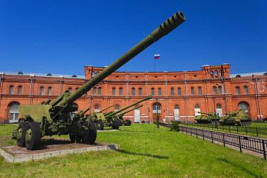 RU02254 Russia, St. Petersburg, Kronverksky Island, Artillery Museum, cannon