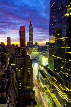 US60138 USA, New York, Manhattan, Midtown, including Empire State Building