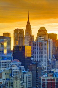 US60141 USA, New York, Manhattan, Midtown, Chrysler Building
