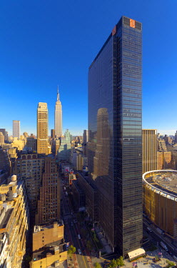 US60131 USA, New York, Manhattan, Midtown, including Empire State Building