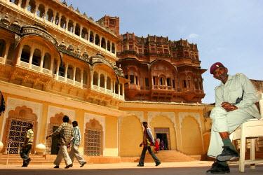 AR4288400041 Meherangarh Fort, Jodhpur, Rajasthan, India