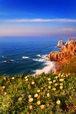 POR6625AW Portugal, Distrito de Lisboa, Cabo da Roca, western point of continental Europe (Promontorium Magnum)