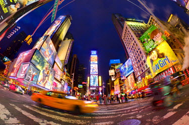 US60254 USA, New York, Manhattan, Midtown, Times Square