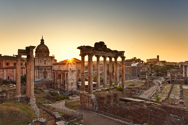 IT9919AW Roman Forum, Rome, Lazio, Italy, Europe.