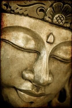 MY01211b Buddha mask, Kuala Lumpur, Malaysia