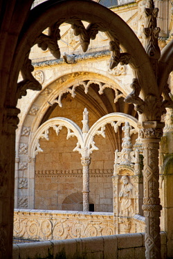 POR6652 Mosteiro dos Jeronimos, Hieronymites Monastery, Late Gothic period, Belem, Lisbon
